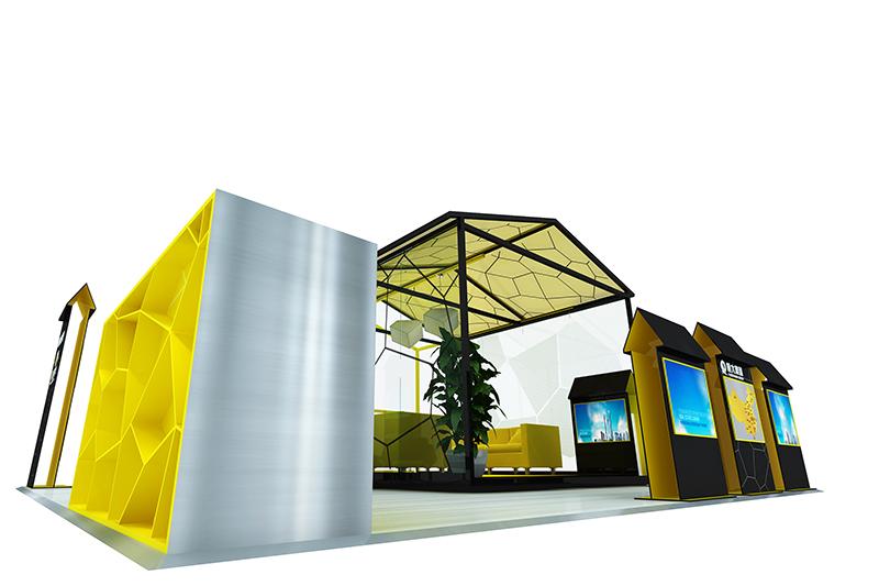 恒大商场静态展|商场展台-厦门市嘉维世纪会展服务有限公司