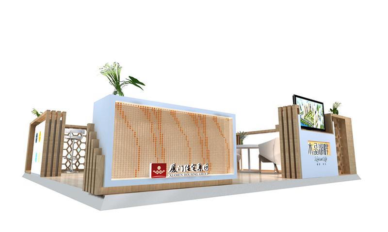 水晶湖畔设计图|商场展台-厦门市嘉维世纪会展服务有限公司
