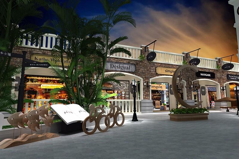 禹洲卢卡小镇商业街氛围规划|商业空间-厦门市嘉维世纪会展服务有限公司