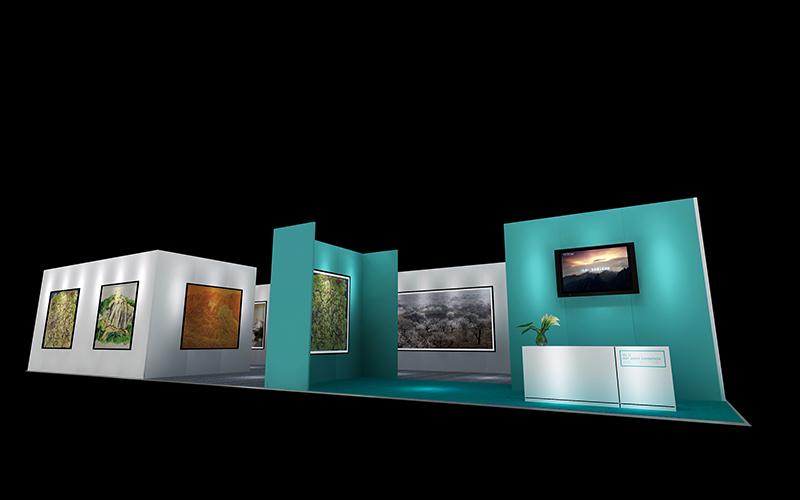 2016 徐里个展|艺术展板-厦门市嘉维世纪会展服务有限公司