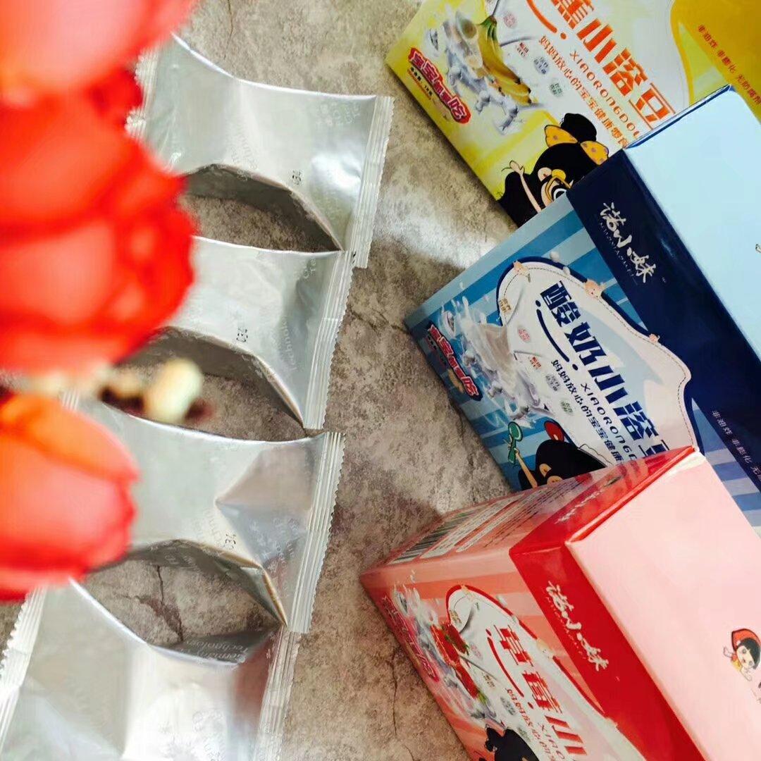 草莓小溶豆-18克 水果小溶豆-德州福诺食品有限公司
