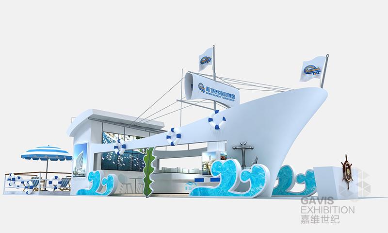 展览设计-2016路桥游艇展|展览特装-厦门市嘉维世纪会展服务有限公司
