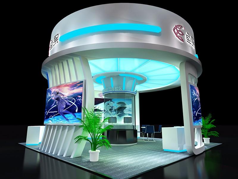 鱼果展点设计|展览特装-厦门市嘉维世纪会展服务有限公司