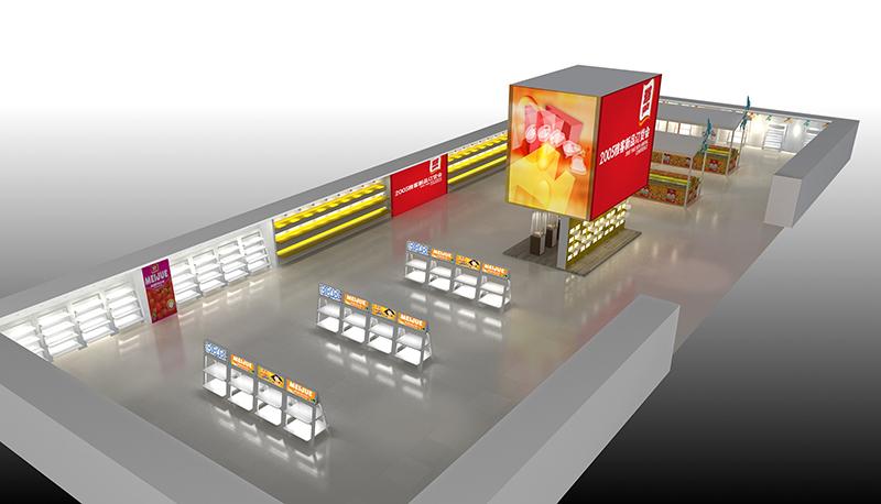 2015雅克訂貨會展廳布置|展示展廳-廈門市嘉維世紀會展服務有限公司