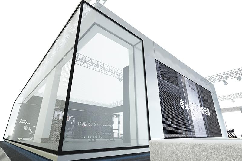 2017舒華|展覽特裝-廈門市嘉維世紀會展服務有限公司