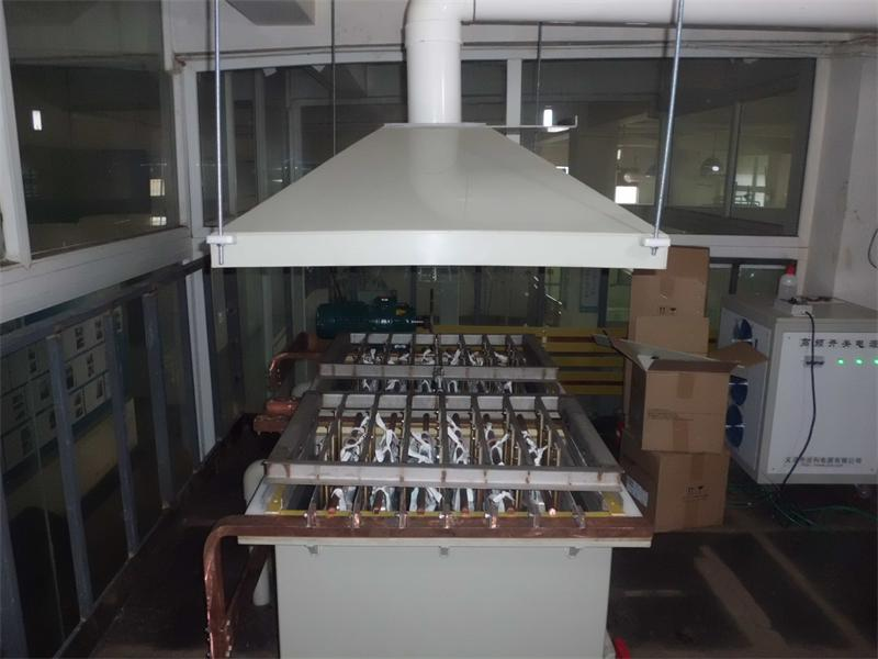 白銀電解精煉機組