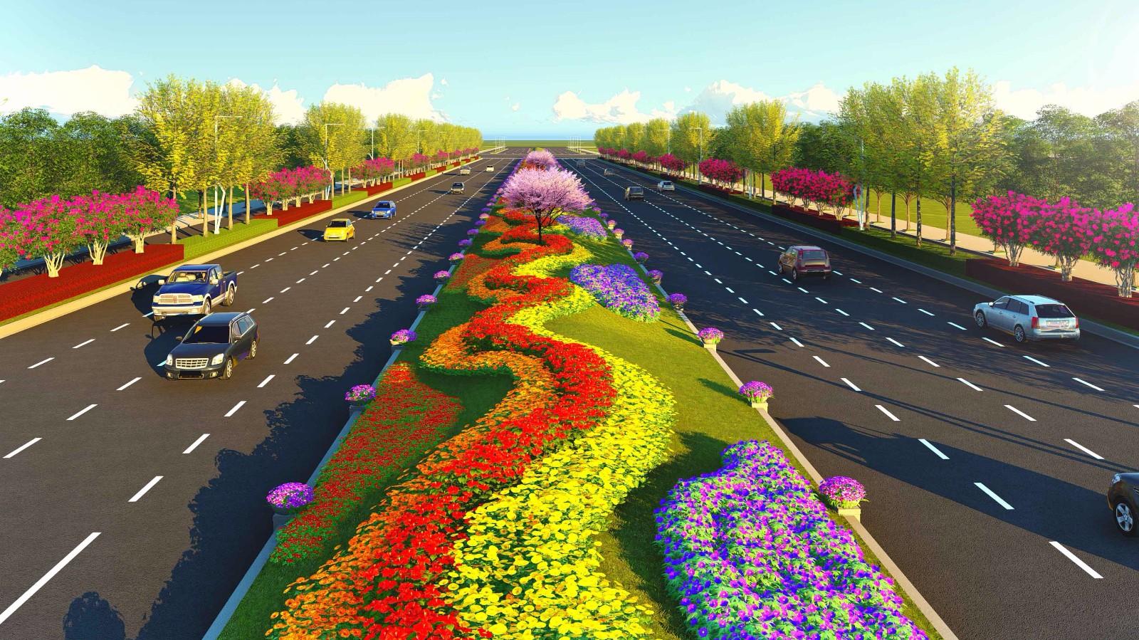 月季园月季大道等项目开工 南阳市主要领导出席开工仪式