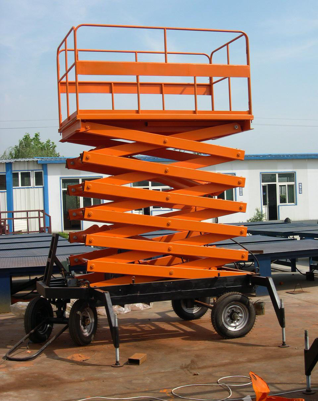 四轮式升降机|移动式升降机-山东新耀液压升降机械有限公司