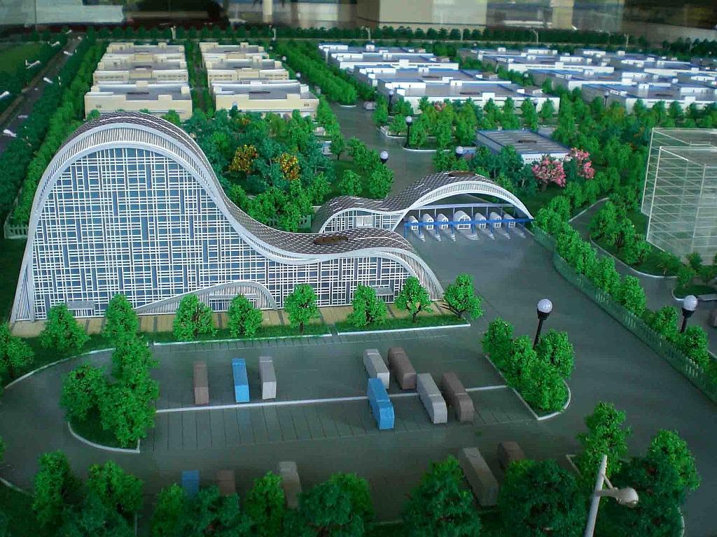 厂区模型设计|厂区模型-苏州伟德国际1946有限公司