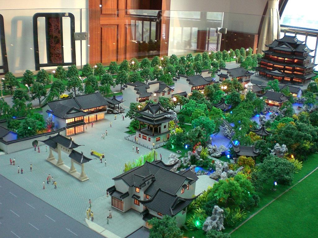 古建模型-苏州雅韵模型有限公司