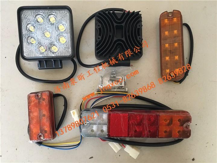 特价优惠叉车专用LED前大灯小灯三色后尾灯双面转向灯|特价产品-济南泉昕工程机械有限公司