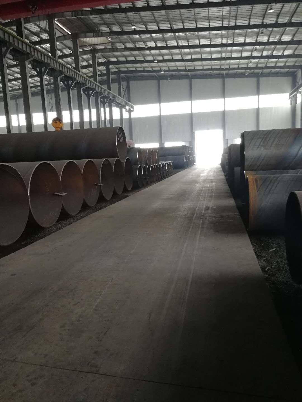 鑫宜達鋼管室內貨場|螺旋鋼管系列-滄州市鑫宜達鋼管集團股份有限公司.