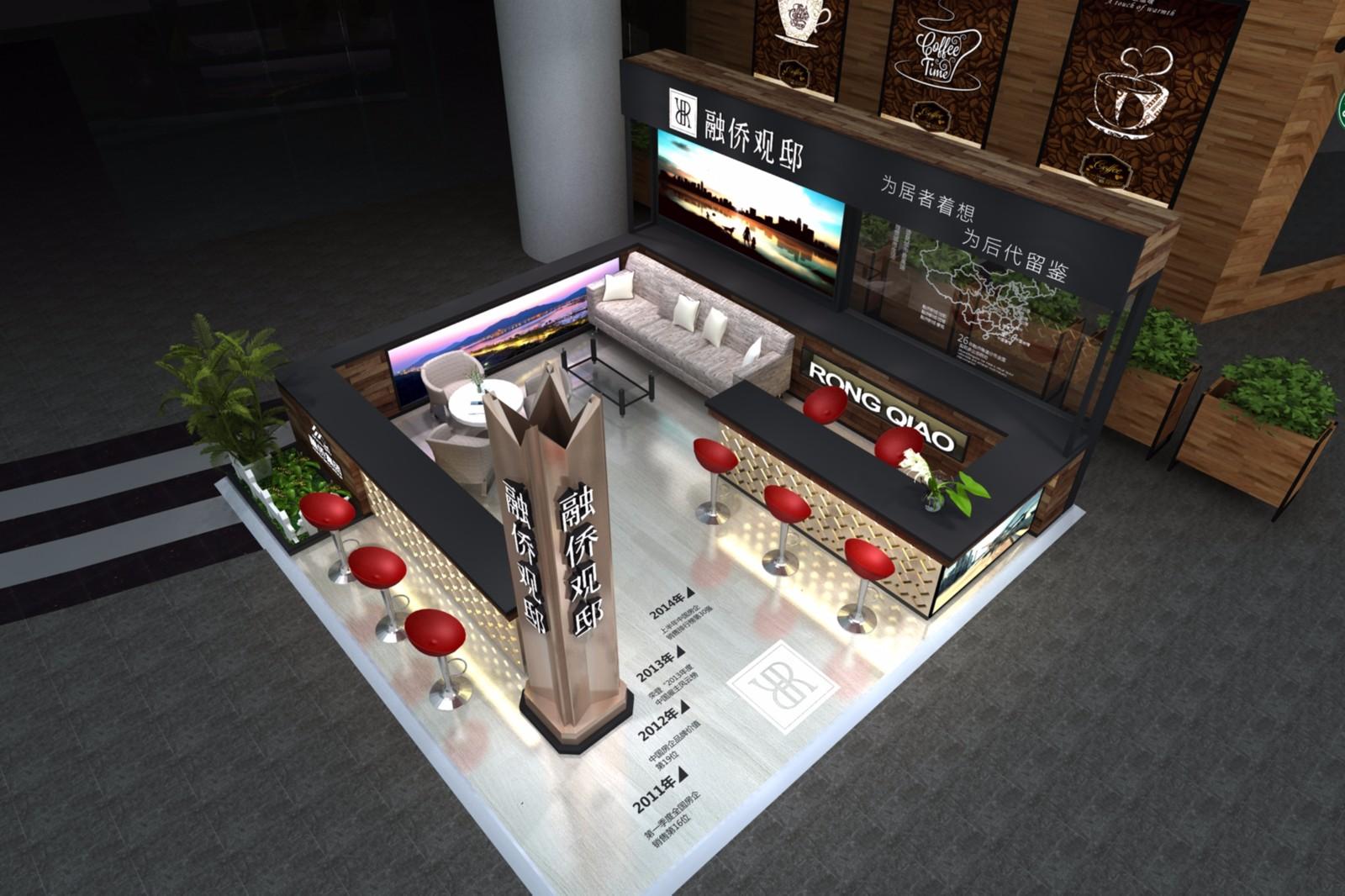 融侨SM二期展位|商场展台-厦门市嘉维世纪会展服务有限公司