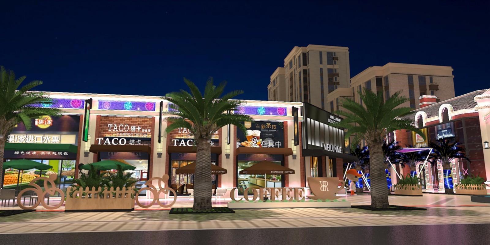 融僑商業街|商業空間-廈門市嘉維世紀會展服務有限公司