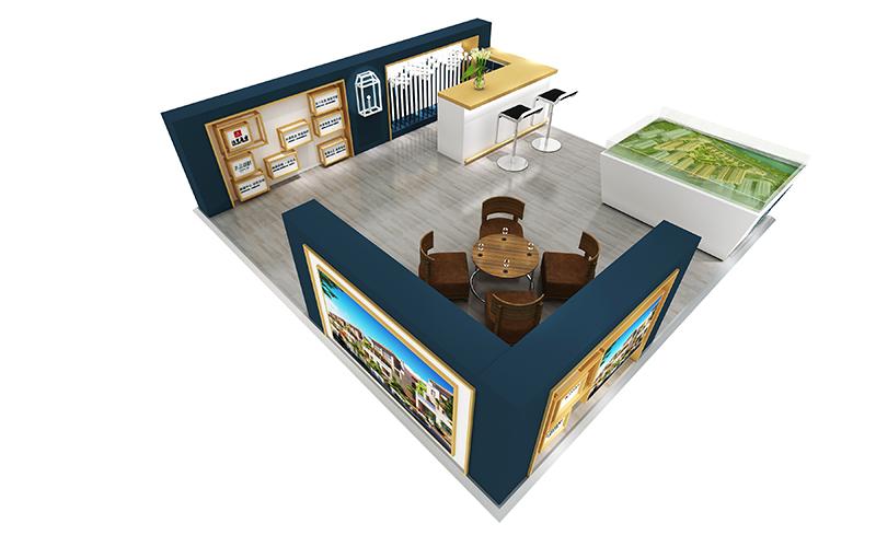 水晶湖畔|商场展台-厦门市嘉维世纪会展服务有限公司