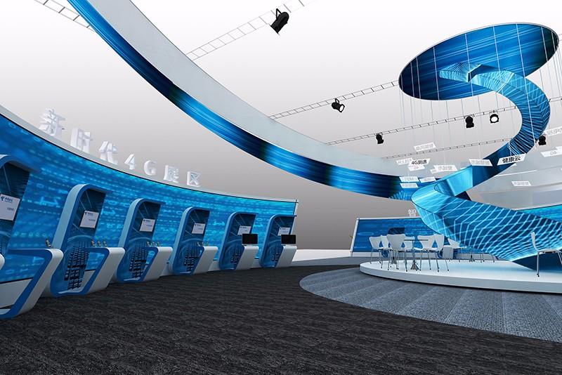 中国电信方案|展览特装-千亿国际_千亿国际娱乐官网_千亿国际娱乐官网app