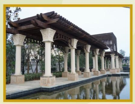重庆grc线条成品效果图案例|GRC线条-重庆桂豪装饰工程公司
