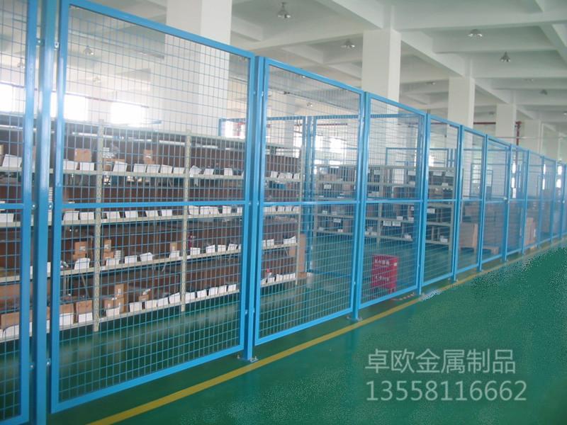 仓库隔离栅|围栏网系列-南宁市卓欧金属制品有限责任公司
