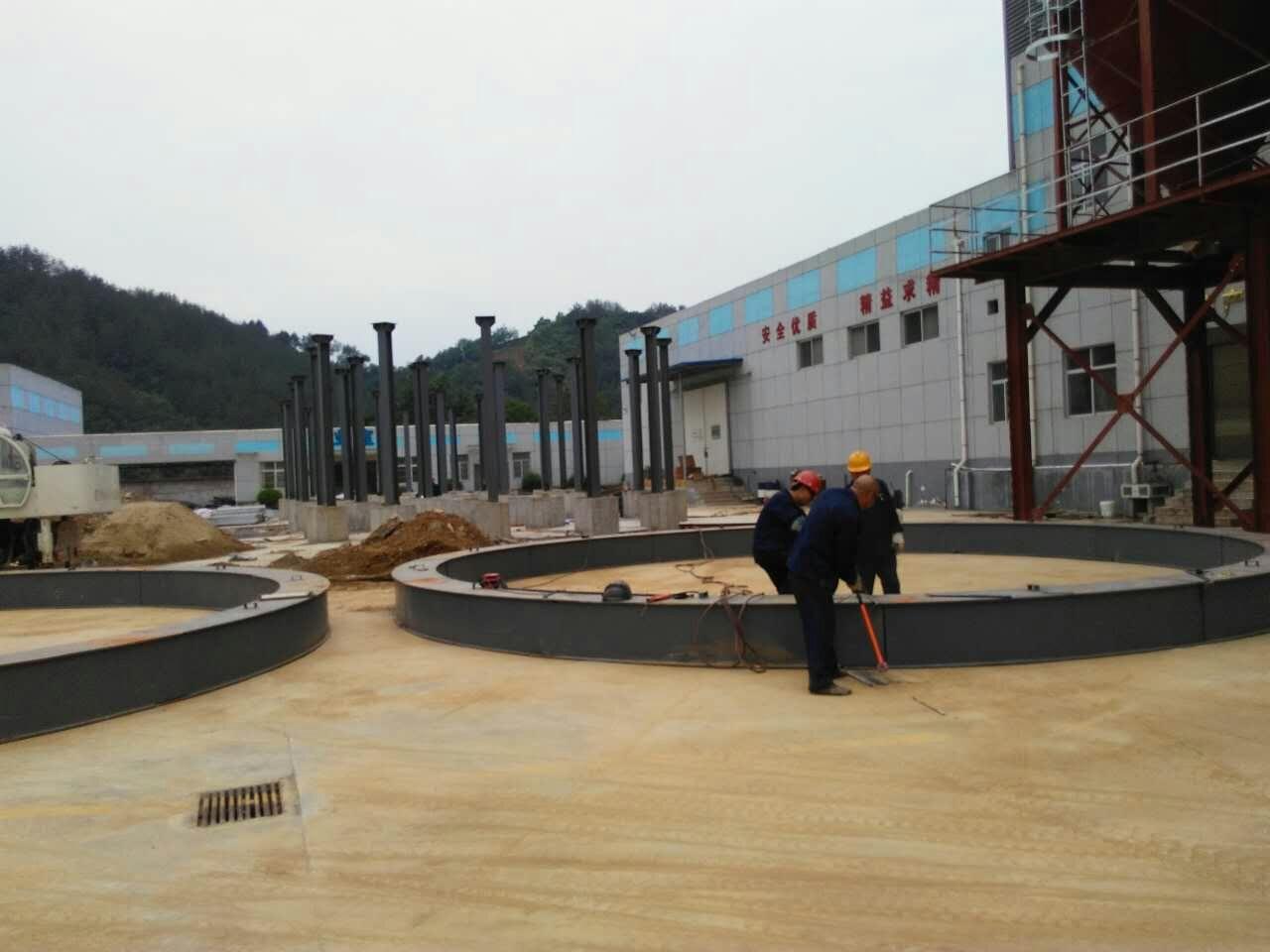 我公司與陜西豐聯集團成功合作3600T糧倉工程|合作案例-洛陽正豐機械有限公司