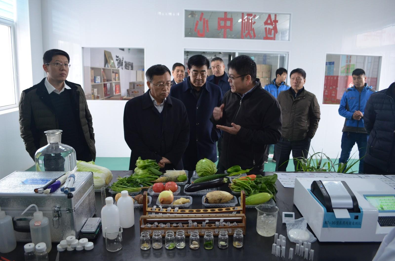 农业部发展计划司到公司调研现代农业发展情况|企业新闻-山东众得利现代农业发展有限公司
