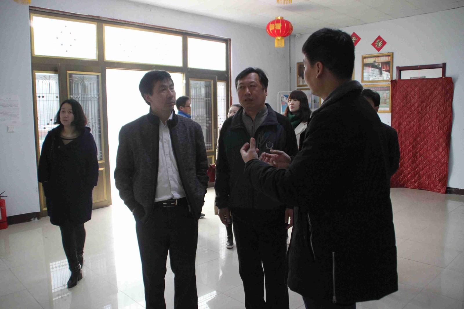 2017年3月30日邯山区教育局郭风江科长等领导来我校进行全方面的工作指导|爱诺动态-爱诺自闭症康复培训学校
