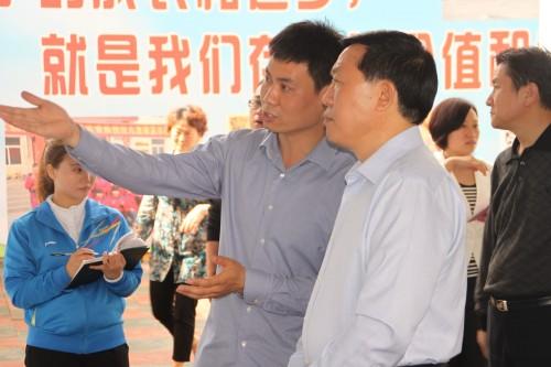市领导到邯郸爱诺孤独症康复培训学校检查指导|爱诺动态-爱诺自闭症康复培训学校
