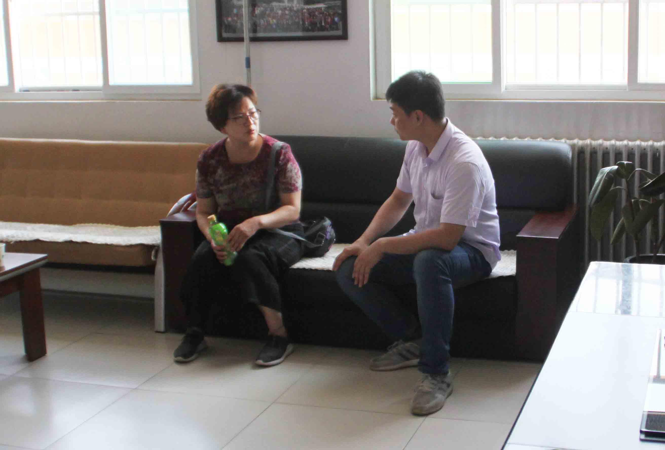 邯山区民政局领导来我校视察工作|爱诺动态-爱诺自闭症康复培训学校