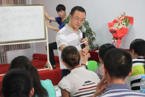 北大六院郭教授来我校培训讲座|爱诺动态-爱诺自闭症康复培训学校