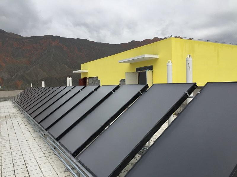 平板式太陽能集熱器