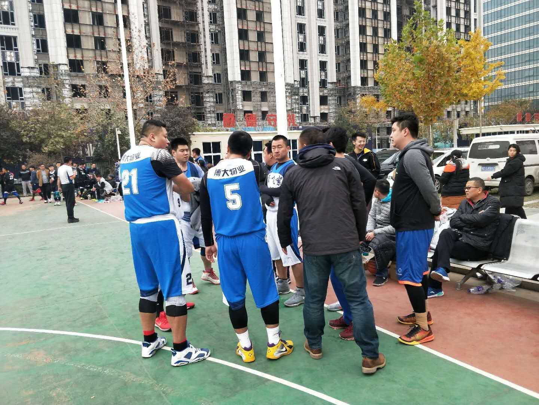 我公司籃球隊獲得安陽市