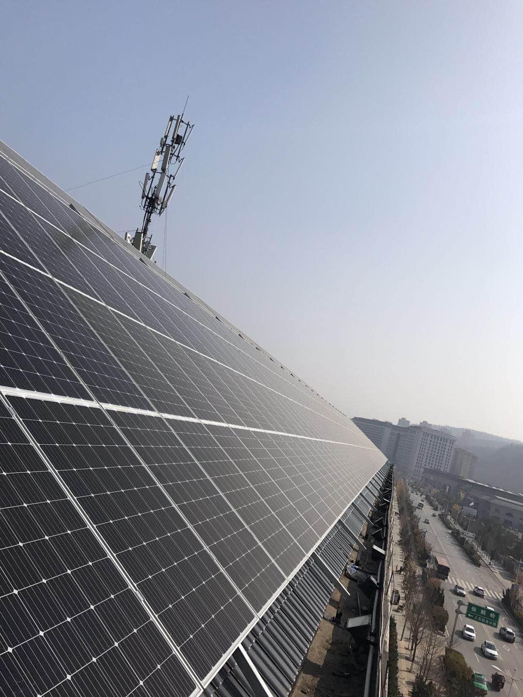 恭喜延安盛唐王朝酒店191kw成功并网。|成功案例-陕西峰海能源科技有限公司