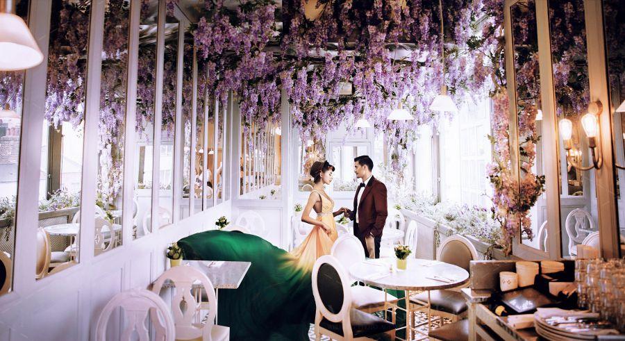 瑞亚(渐变黄)|瑞亚(渐变黄)-金夫人婚纱摄影