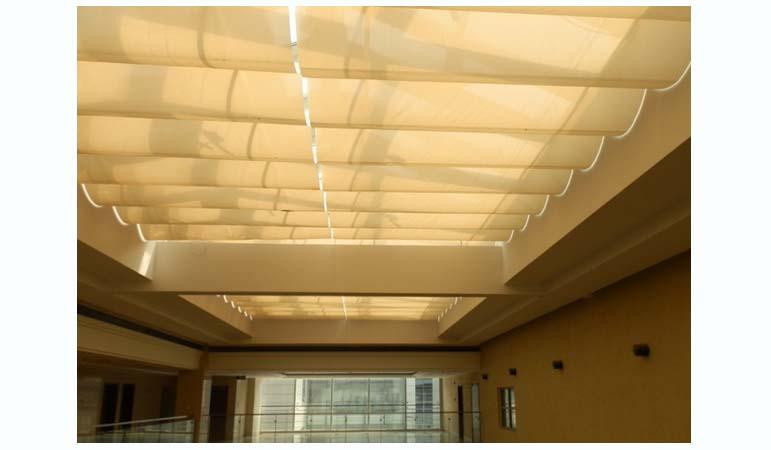 FCS天棚帘|满飞产品展厅-上海满飞智能窗饰有限公司