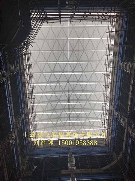fcs电动遮阳天棚帘 天棚帘系列-上海满飞智能窗饰有限公司