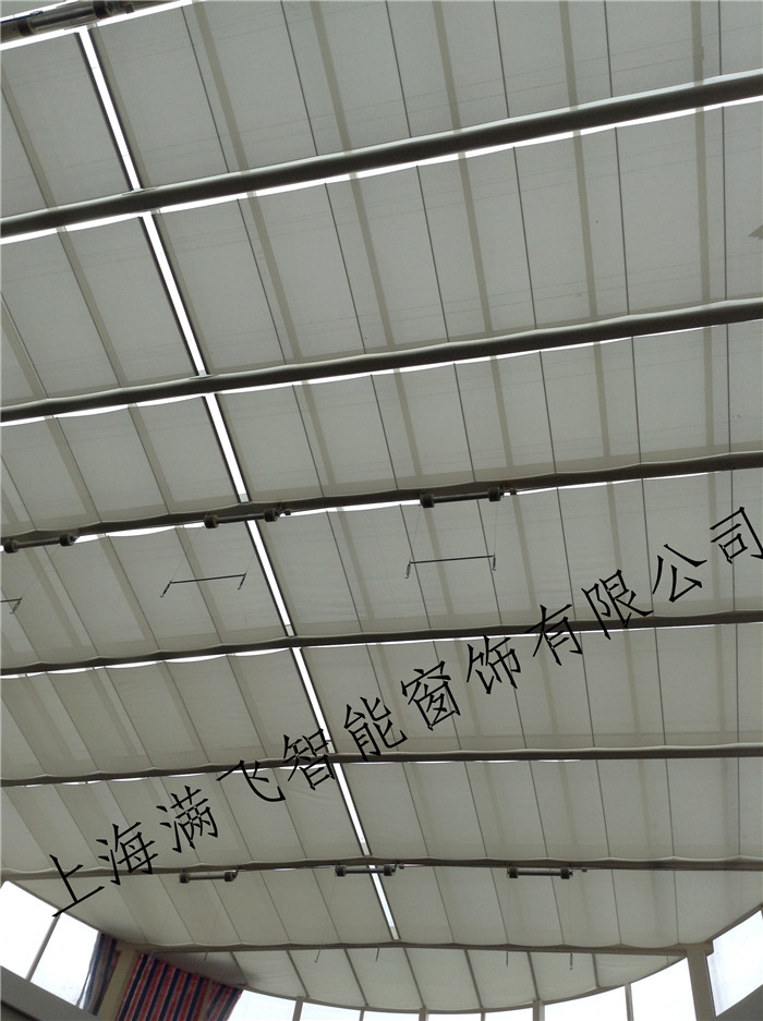 FCS电动天棚帘|天棚帘系列-上海满飞智能窗饰有限公司