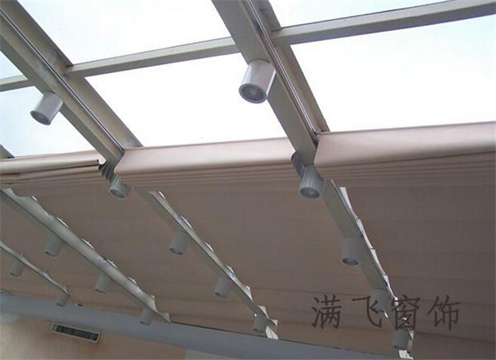 佳力斯双轨天棚帘|天棚帘系列-上海满飞智能窗饰有限公司