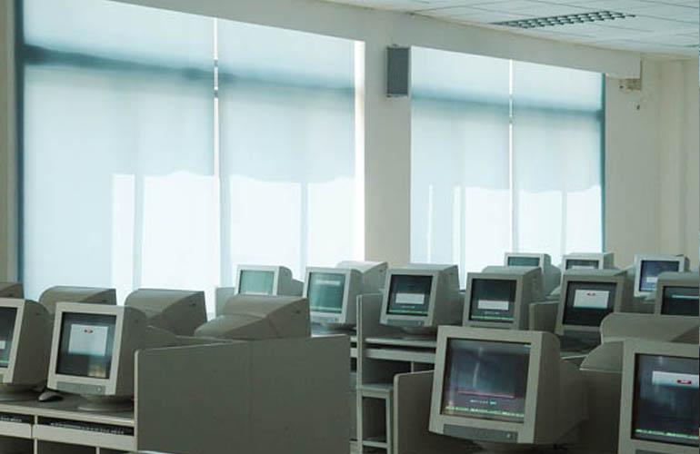 弹簧卷帘|电动卷帘系列-上海满飞智能窗饰有限公司