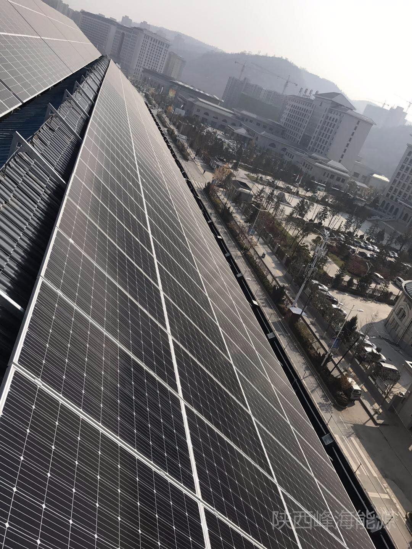 恭喜延安盛唐王朝酒店191kw成功并網!!!|成功案例-陜西峰海能源科技有限公司