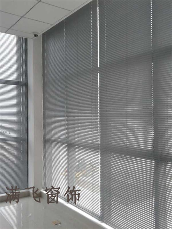 50mm铝百叶帘银白色|百叶帘系列-上海满飞智能窗饰有限公司