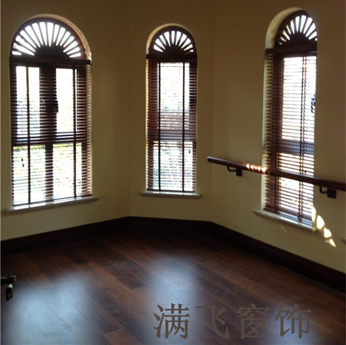 电动木百叶|百叶帘系列-上海满飞智能窗饰有限公司