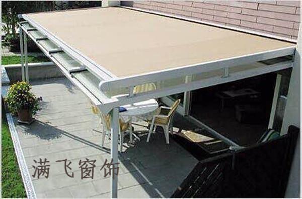 户外电动天幕|电动天幕-上海满飞智能窗饰有限公司