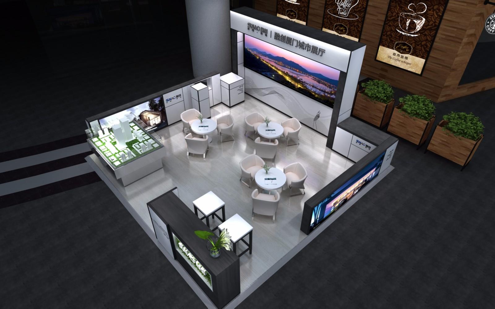 2017融创整改|商场展台-厦门市嘉维世纪会展服务有限公司