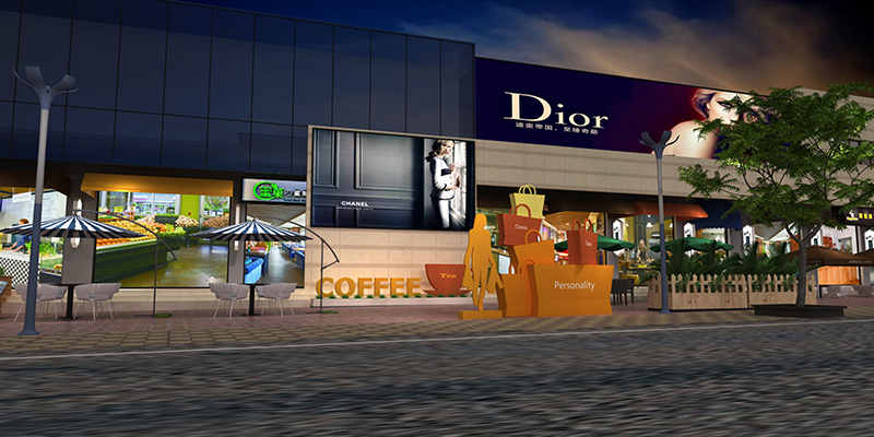 商業空間-禹洲香溪里商業街|商業空間-廈門市嘉維世紀會展服務有限公司