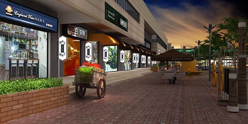 商业空间-禹洲香溪里商业街|商业空间-厦门市嘉维世纪会展服务有限公司