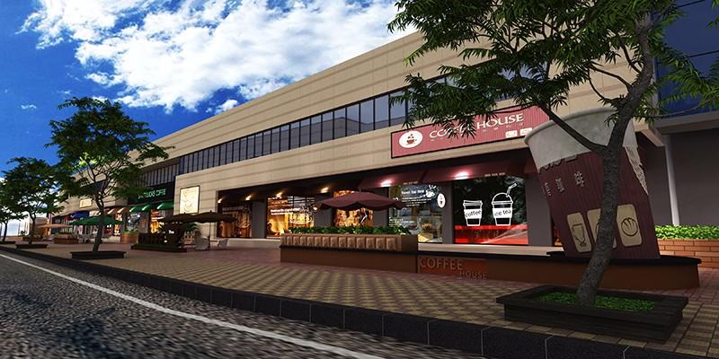 禹洲香溪里商业街|商业空间-厦门市嘉维世纪会展服务有限公司