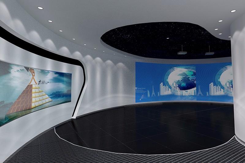 智聯信通 展示展廳-廈門市嘉維世紀會展服務有限公司