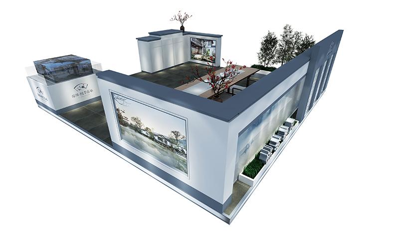 2017SM二期绿城展点|商场展台-厦门市嘉维世纪会展服务有限公司