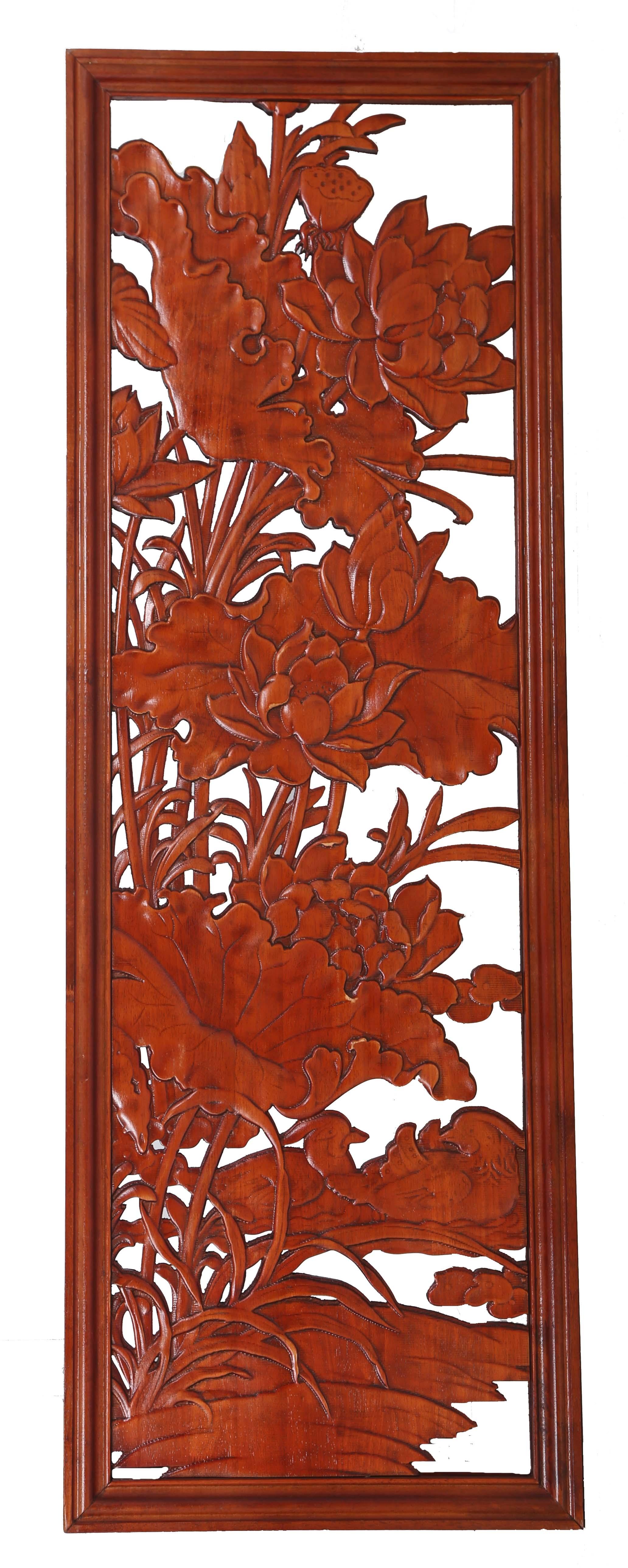 中式仿古门芯-雕花