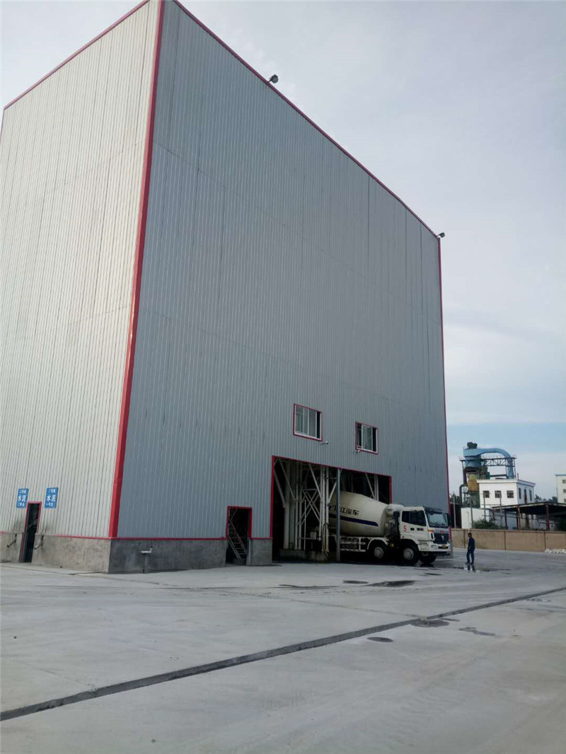 混凝土搅拌站案例|干混砂浆站-徐州IBET国际环保设备有限公司