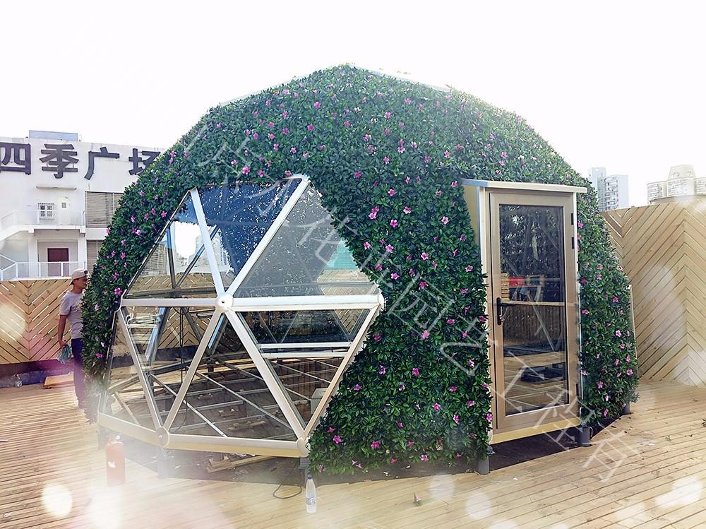 玻璃绿化 仿真植物墙-杭州山点水花卉租赁园艺工程有限公司